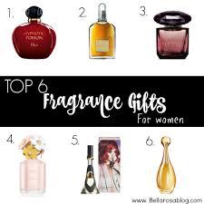 top fragrance gifts for women u2014 bella rosa