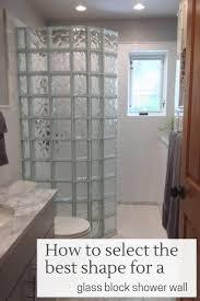 25 best ideas about glass block shower on pinterest glass block