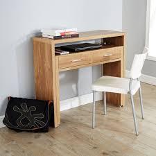 Computer Desk Hidden by Computer Table Hideaway Computer Desk Baumhaus Aston Oak Hidden