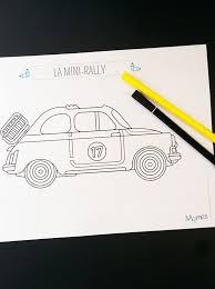 les 25 meilleures idées de la catégorie voiture coloriage sur