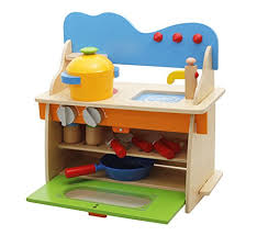 pretend kitchen furniture lewo wooden pretend kitchen cooking role play set kids toys creative