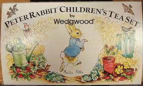 wedgwood rabbit tea set vintage wedgwood 6 rabbit children s tea set