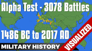 World Map Com by Alpha Test 3078 Battles From 1486 Bc To 2017 Ad World Map