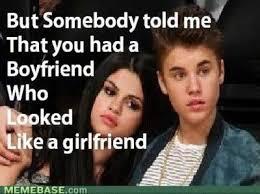 Selena Gomez Memes - justin bieber selena gomez the killers of music internet memes