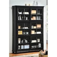 Bookcase With Door Bookcase With Glass Doors Design Idea Door Design