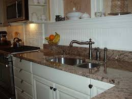 beadboard kitchen backsplash kitchen beadboard backsplash for kitchen with granite