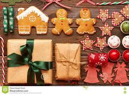 Homemade Decoration Christmas Homemade Decoration Flat Lay Stock Photo Image 78905152