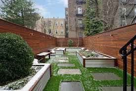 sumptuous planter boxes trend new york contemporary landscape