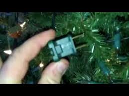 how to change fuse in christmas lights christmas lights hidden fuse indoor outdoor lights youtube