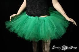 Green Tutu Halloween Costume Tutu Skirt Monster Green Extra Poofy Fairy Fae Halloween