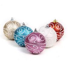 Glitter Christmas Ball Ornaments compare prices on luxury christmas ornaments online shopping buy