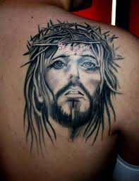 chest and shoulder tattoo 20 best jesus tattoo images and designs