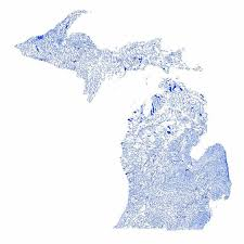 map of michigan lakes the 25 best state of michigan map ideas on rv