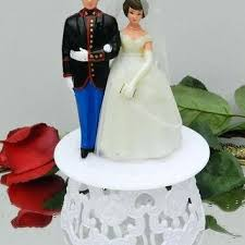 marine wedding cake toppers wedding cake toppers true vintage figures marine corps