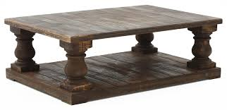 Pedestal Coffee Table Rustic Pedestal Coffee Table Weir S Furniture