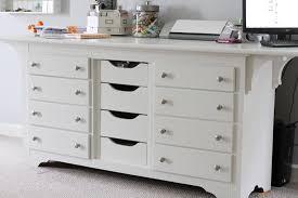 Craft Desk With Storage Dresser To Desk U2026my New Scrap Table Nicole Samuels