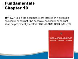 fire alarm document cabinet nfpa national fire alarm signaling code ppt video online download