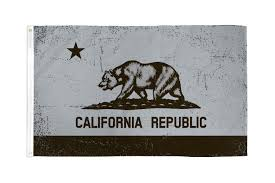 Califirnia Flag 3x5 Grey And Black California Flag State Republic Ca Outdoor