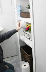 projects idea built in bathroom shelves manificent design diy