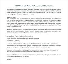 sample job interview thank you letter thank you letter after internal job interview u2013 aimcoach me