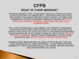 consumer bureau protection agency 203 the consumer financial protection bureau higher education s
