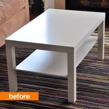 lack coffee table hack ikea lack table hack used a duvet cover and attached it to the