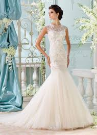 beaded lace cap sleeved trumpet wedding dress 116222 ica