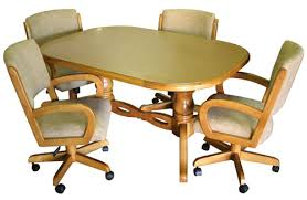amazing manificent kitchen chairs with casters upholstered dining