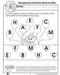 free preschool letter worksheets recognizing and matching identical letters free preschool