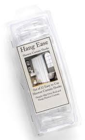 Plastic Shower Curtain Hooks Wholesale Hang Ease Bone