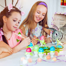 kids easter eggs decorating easter eggs jpg