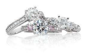 jewellery rings engagement images Designer diamond jewellery online pink diamond ring nina 39 s png
