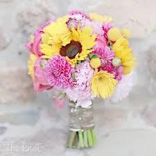wedding flowers sunflowers sunflower wedding bouquets