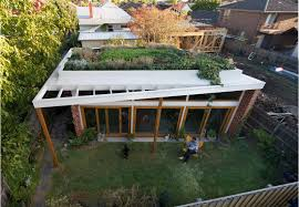 brick house an australian architect u0027s simple brick house with impressive green