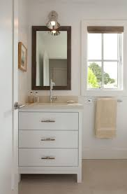 bathrooms design simple white cabinet with drawers for small