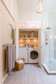 laundry room chic small bathroom laundry designs find this pin
