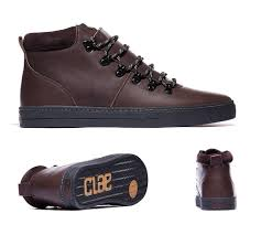 mens casual shoes clae grant boot umber black leather