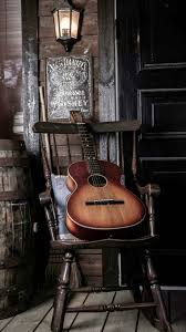 old guitar on chair iphone 6 wallpaper misc pinterest