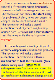 refrigerator parts compressor systemtesting