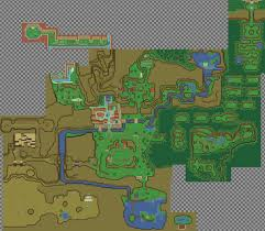 Time Map Zelda Ocarina Of Time U0027 World Recreated In Top Down 2d The Verge