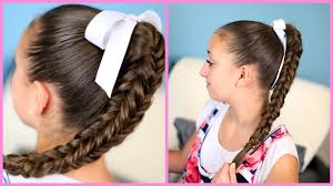 cute haircutes for 47 year olds box four sided fishtail braid wear it down or up in a bun