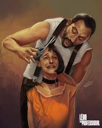 leon the professional time for a haircut by projectvirtue on