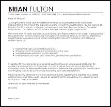 cover letter for a sales position inside sales representative cover letter sample livecareer