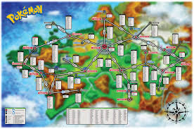 Map My Route by Spoiler Here U0027s The Location Of Every Pokemon In Pokemon X U0026 Y