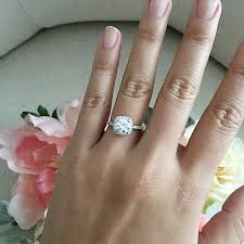 round square rings images Square round diamond halo engagement ring wedding ring promise jpg