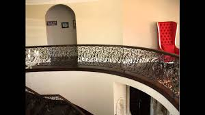 chicago custom ornamental wrought iron works interior railings