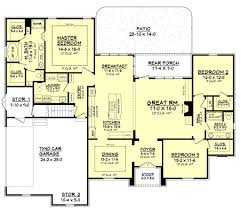 european style house plan 3 beds 2 00 baths 2091 sq ft plan 430 94