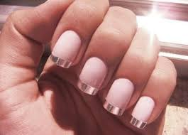 chrome french tips nail polish available here http www
