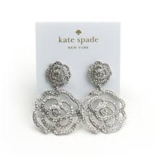 earrings new york kate spade new york silver plated stud fashion earrings ebay