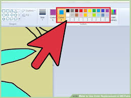 how to use color replacement in ms paint 8 steps with pictures